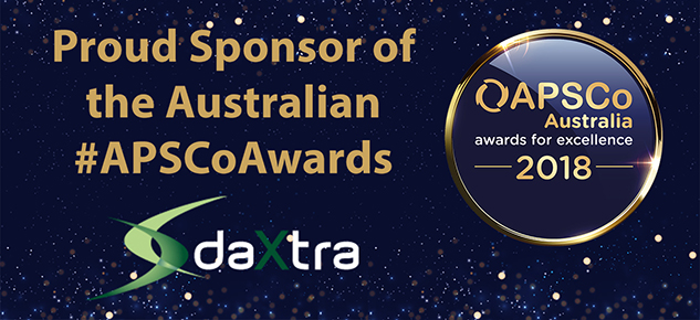 DaXtra sponsors the APSCo Australia Awards 2018